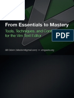 Vim From Essentials to Mastery 2011