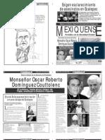 Versión impresa del periódico El mexiquense 18 julio 2012