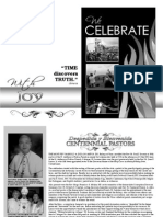 Centennial Book - We Celebrate