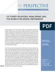 SETA-US-Turkey Relations- Arab Spring and the Search for Model Partnership