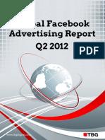 TBG Digital Global Facebook Advertising Report Q22012\