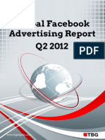 TBG Digital Global Facebook Advertising Report Q22012\