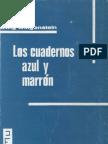 Wittgenstein Cuadernos Azul y Marron OCR