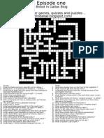 Crossword Puzzle - Episode one