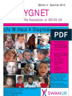 SWAN UK Newsletter, Edition 4, Summer 2012