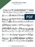 Richard Clayderman - Melodie Des Souvenirs