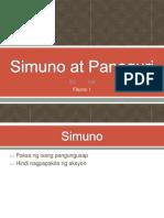 Simuno at Panaguri