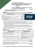 Titularizare 2012 Invatatori Model Subiect