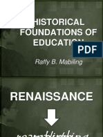 Renaissance Education