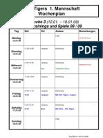 Internet Trainings Und Spielplan SCL Tigers NLA Woche 3