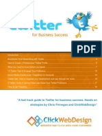 Twitter for Business eBook 2012