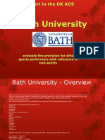 Bath University Presentation