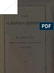 The Albanian Question - Mehmet Konitza [Mehmet Konica] (1818)