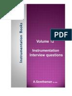 Instrumentation Interview Questions