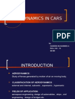 A PPT on Aerodynamics in Cars