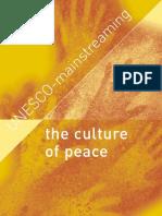 The Culture of Peace UN ES CO -m Ai