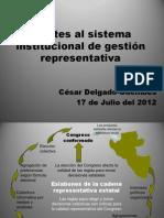 CDG - Miseria de la representación