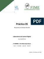 Práctica 05 - Sistemas