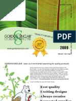 Gordon 2009 Catalog