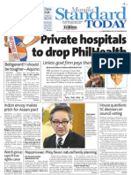 Manila Standard Today -- July 19, 2012