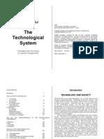 The Technological System [Le Système Technicien] - Jacques Ellul