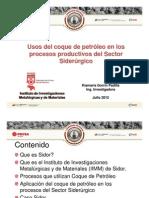 KIAMARIS coque de petróleo en procesos productivos del Sector  Siderúrgico