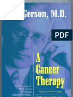 A Cancer Therapy Results of Fifty Cases