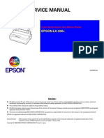 Epson LX300+ Service Manual