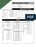 Paranoia 2th Character Sheet