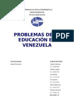al hablar de la historia de la educación en Venezuela suele partirse de la conquista española