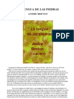Breton, André. La lengua de las piedras