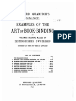 Art of Bookbinding 1897