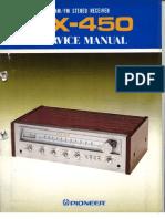 Pioneer Sx 45 Service Manual