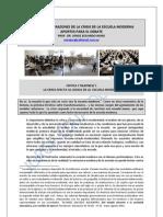 155. DIEZ CRITICAS Y RAZONES DE LA CRISIS DE LA ESCUELA MODERNA