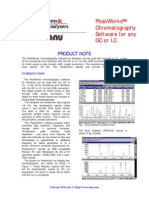 Peakworks Chromatography Integration software