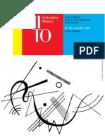 MITO 2012 Programma Completo