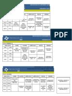 Horariso B-2012 Obras Civiles PDF