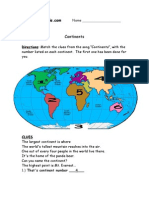 Continents and Oceans Lesson Plan - Nancy J, Jean, Andyand Debbie[1