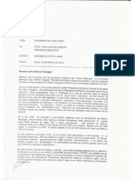 Memorandum PE-29-12 from Cofiec President to Cofiec Board RE
