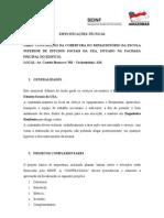 ESPECIFICAÇÃO TÉCNICA-modelo