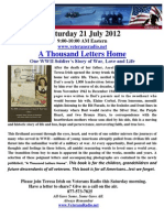 Veterans Radio-21 July 2012-Thousand Letters Home