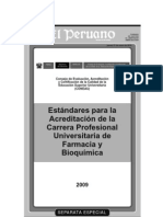 Estandares de Farmacia El Peruano