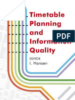 1845645006Timetable Planning