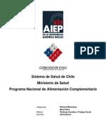 Programa de Alimentación Nacional en Chile PNAC y PACAM