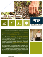 Trees, Water & People Annual Report 2011