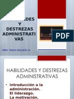 Habilidades y Destrezas Administrativas