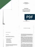 Genero, Psicoanalisis y Subjetividad - Burin - Meler