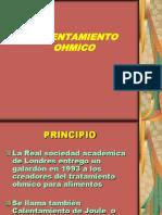 CALENTAMIENTO OHMICO