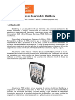 Arquitectura Seguridad Blackberry