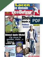 LE BUTEUR PDF du 11/01/2009